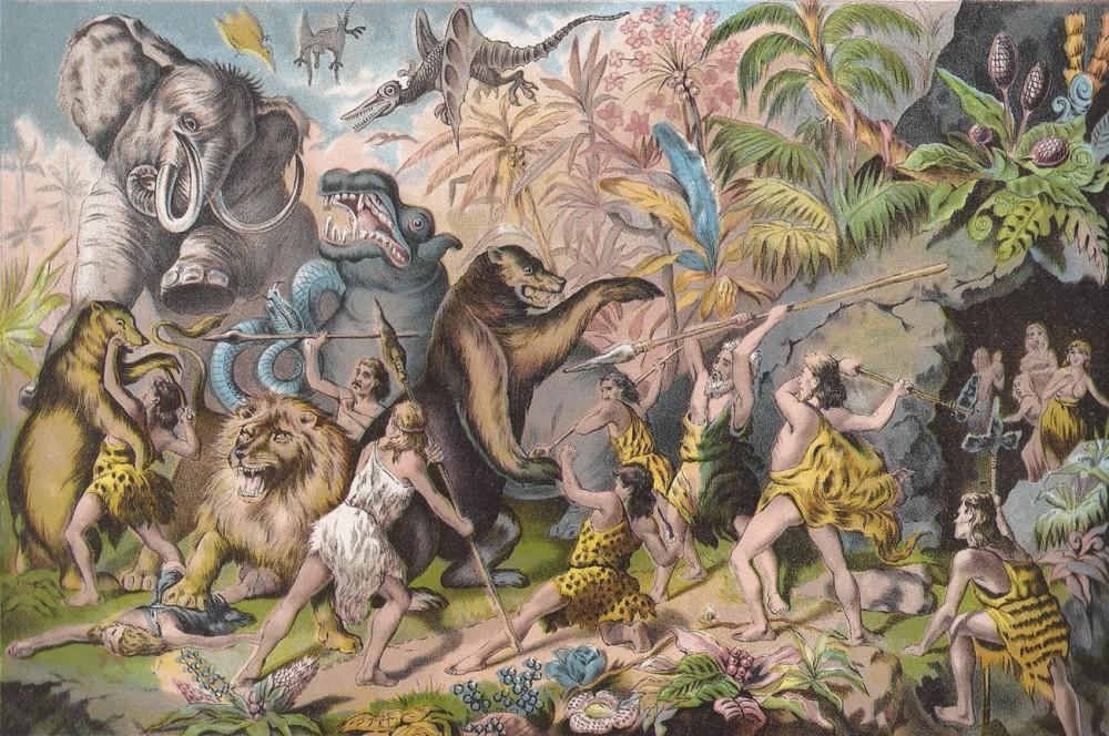 primitive-beasts-and-cavemen